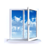 Fenêtre ouverte Posters par  Serp