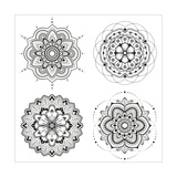 Mandala Set Posters by  Lullis