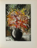 Les Reines-Marguerites, 1955 Collectable Print by Maurice De Vlaminck