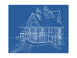 House Blueprint: Technical Draw Prints by  -Vladimir-