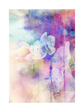 Abstract Floral Background- Watercolor Grunge Texture Posters af run4it