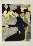 Le Divan japonais II Collectable Print by Henri de Toulouse-Lautrec