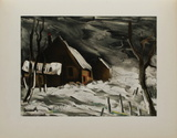 La Maladrerie Sous la Neige, 1956 Collectable Print by Maurice De Vlaminck