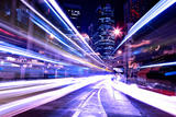 Modern City at Night Photographic Print by  leungchopan