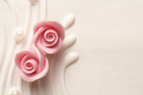 Wedding Cake Roses Photographic Print by  kuleczka