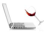 Wine Falling on Laptop Photo by  karandaev