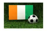 Ivory Coast Soccer Prints by  badboo