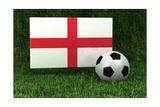 England Soccer Art by  badboo