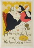 Reine de joie Collectable Print by Henri de Toulouse-Lautrec
