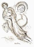 Plafond de l'Opéra: Romeo et Juliette Wydruki dla kolekcjonerów autor Marc Chagall
