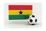 Ghana Soccer Prints by  badboo