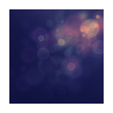 Festive Bokeh Background Print by  mythja