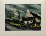 Pres de Beaumont Sur Sarthe, 1954 Collectable Print by Maurice De Vlaminck