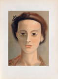 Tete de Femme Collectable Print by André Derain