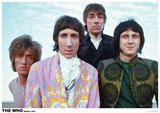 The Who – Colour Group 1968 - Poster