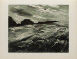 La Baie des Trepasses, 1949 Collectable Print by Maurice De Vlaminck