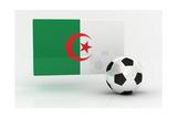 Algeria Soccer Print by  badboo