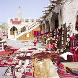 Textiles in Qatari Souq Posters by  PaulCowan