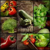 Fresh Vegetables Photographic Print by  mythja