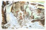 Paysage Surrealiste Samlertryk af André Masson