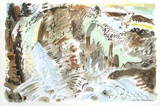 André Masson - Paysage Surrealiste Sběratelské reprodukce