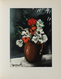Les Anemones, 1955 Collectable Print by Maurice De Vlaminck