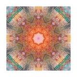 Kaleidoscope Pattern Print by  josunshine