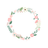 Floral Frame Posters by Alisa Foytik