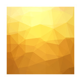 Abstract Yellow Background Prints by  epic44