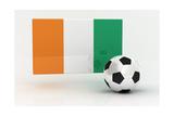 Ivory Coast Soccer Poster by  badboo