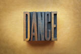 Tanz Fotodruck von  enterlinedesign
