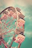 Vintage Ferris Wheel Photographic Print by  SeanPavonePhoto