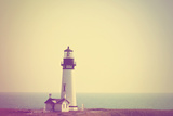 A Lighthouse in the Fog Posters by  graphicphoto