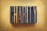 Charity Photographic Print by  enterlinedesign