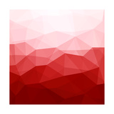 Abstract Red Background Prints by  epic44