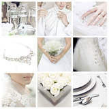 Collage of Nine Wedding Photos Posters by  llaszlo