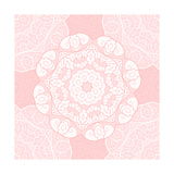 Delicate Lace Pattern Premium Giclee Print by  elein
