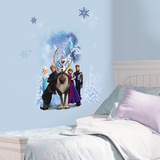 Disney's Frozen - Group Burst Wall Decal Mode (wallstickers)