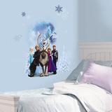 Disney's Frozen - Group Burst Wall Decal Wandtattoo