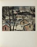 Paysage d'Hiver, 1908 Collectable Print by Maurice De Vlaminck