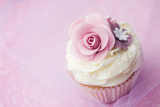 Wedding Cupcake Photographic Print by Ruth Black