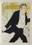 Caudieux Collectable Print by Henri de Toulouse-Lautrec