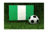 Nigeria Soccer Posters af badboo