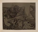 LC - Bacchanale au hibou Impressão colecionável por Pablo Picasso