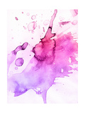 Abstract Watercolor Hand Painted Background Print by  katritch