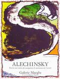 Galerie Maeght, 1981 Samlartryck av Pierre Alechinsky