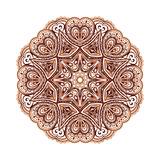 Ornate Ethnic Henna Colors Mandala Premium Giclee Print by  art_of_sun