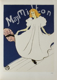 May Milton Collectable Print by Henri de Toulouse-Lautrec
