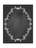Ornamental Frame on Chalkboard Posters by  tukkki