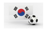 Korea Republic Soccer Art by  badboo